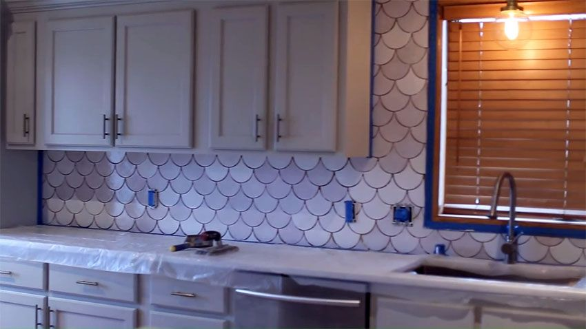 How to Install Tile Backsplash (DIY Kitchen Ideas) (With