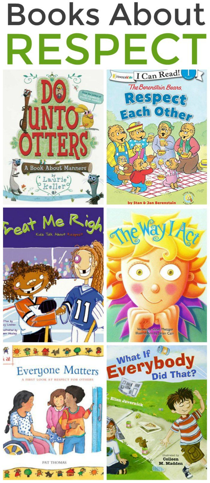 Childrens Books about Respect | Mommy Evolution | Best children books, Childrens books, Chapter