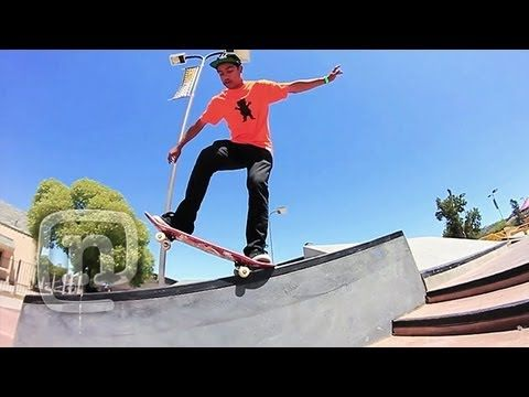 Skaters Lamont Holt & Chris Harris At Camp Woodward West: NKA Project
