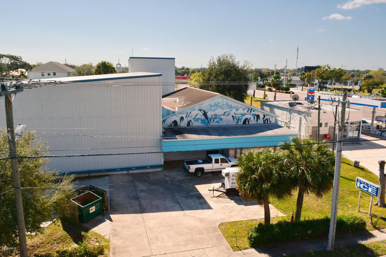 Building / property centrally located in the heart of Brevard County. Great location for refrigeration storage. The system gets down to 15 degrees f and has capability of adding additional systems to become a true storage freezer. TCommercial zoned C-C (Core Commercial). #lovefl #remaxfl