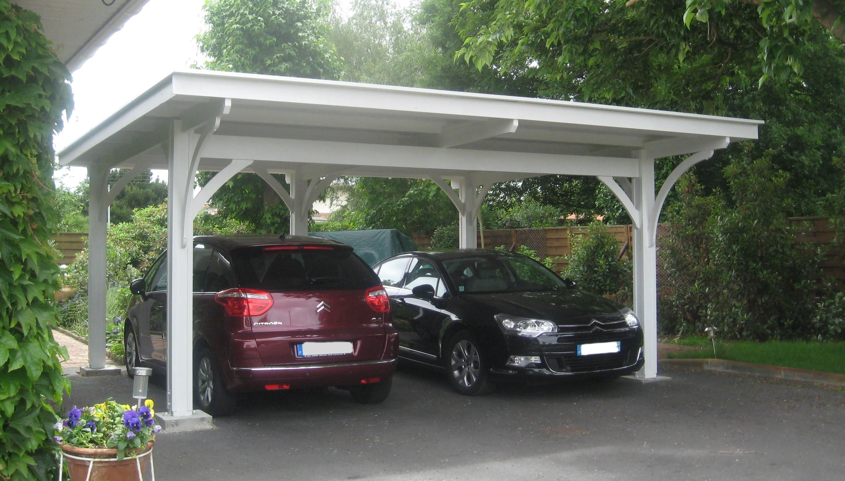 Pergola carport sur pinterest terrasse pergolas et for 4 car carport plans