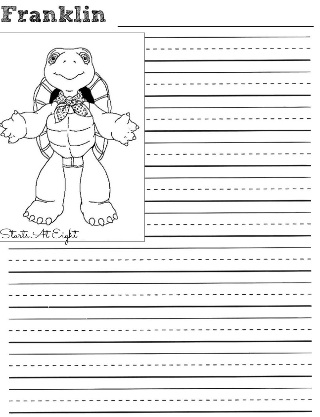 http://www.startsateight.com/notebooking-with-franklin-the-turtle ...
