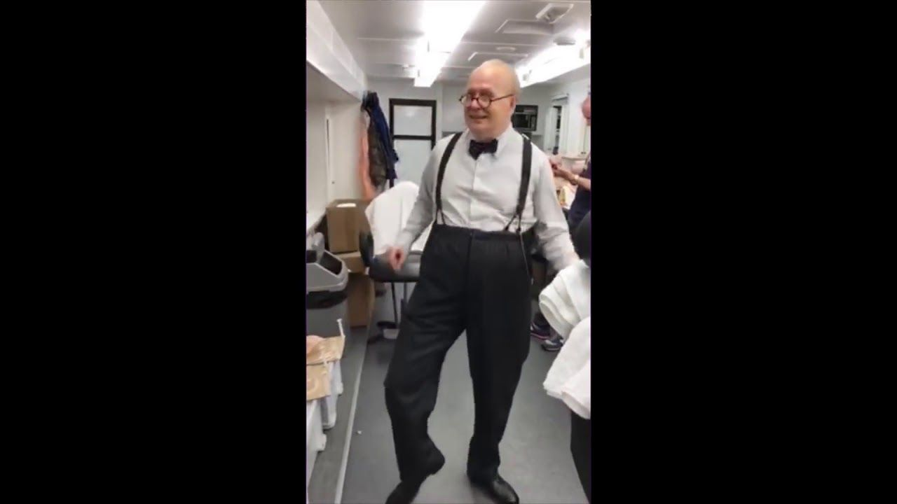 Winston Churchill Dancing Like James Brown Played By Gary
