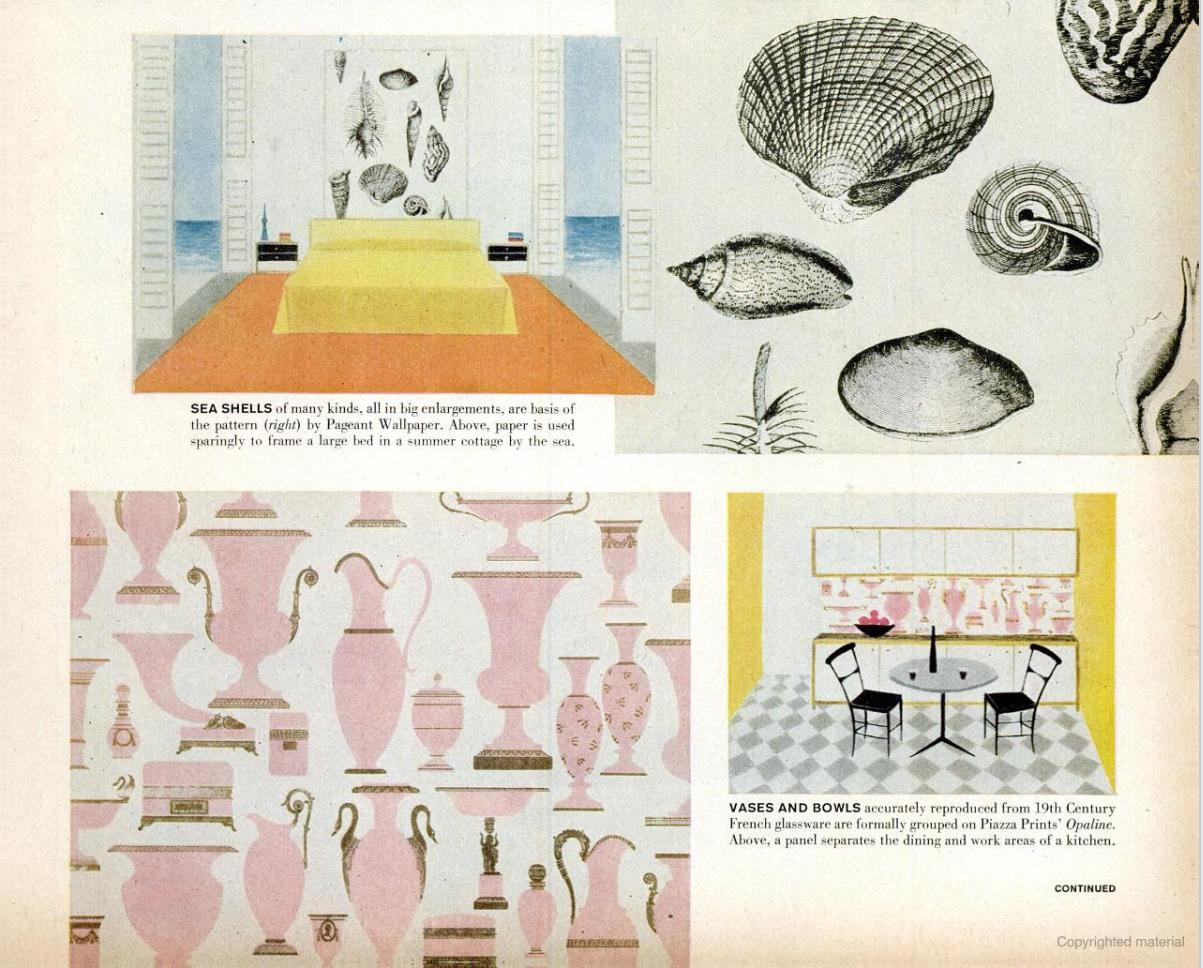designer Vera Neumann, Life Magazine 1958