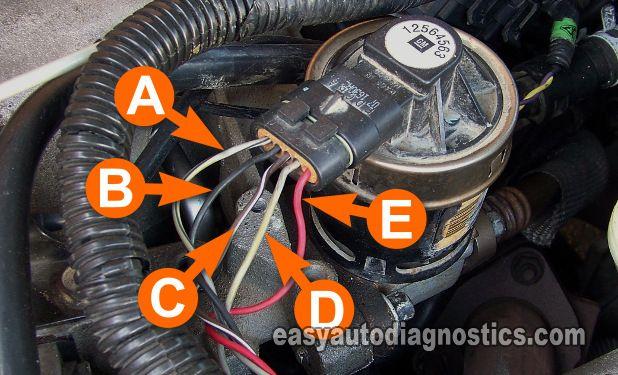 Making Sure The Egr Pintle Position Sensor Has Ground Gm Egr