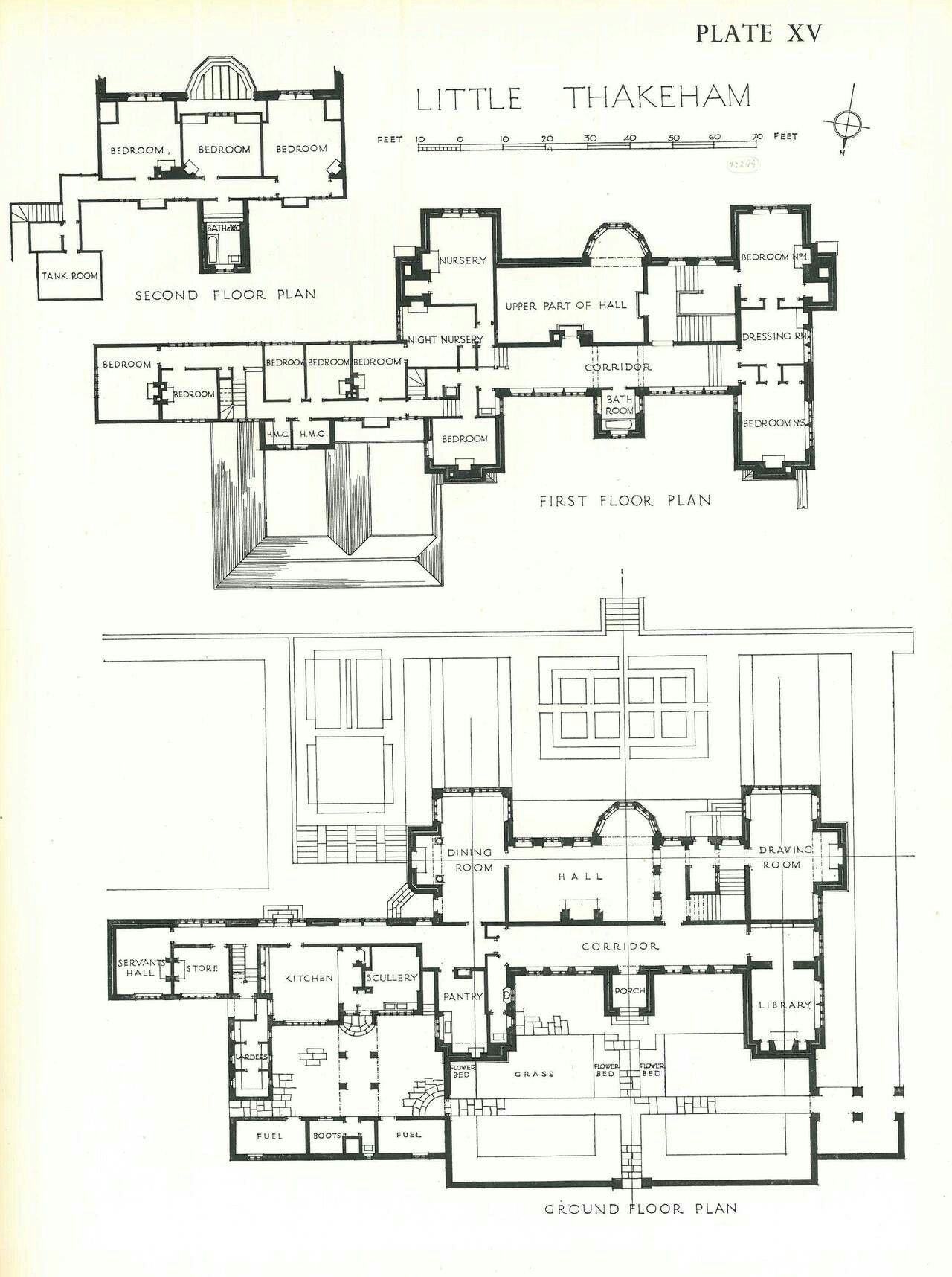 Little thakeham floor plan 1 280 1 716 pixels english for Historic tudor house plans