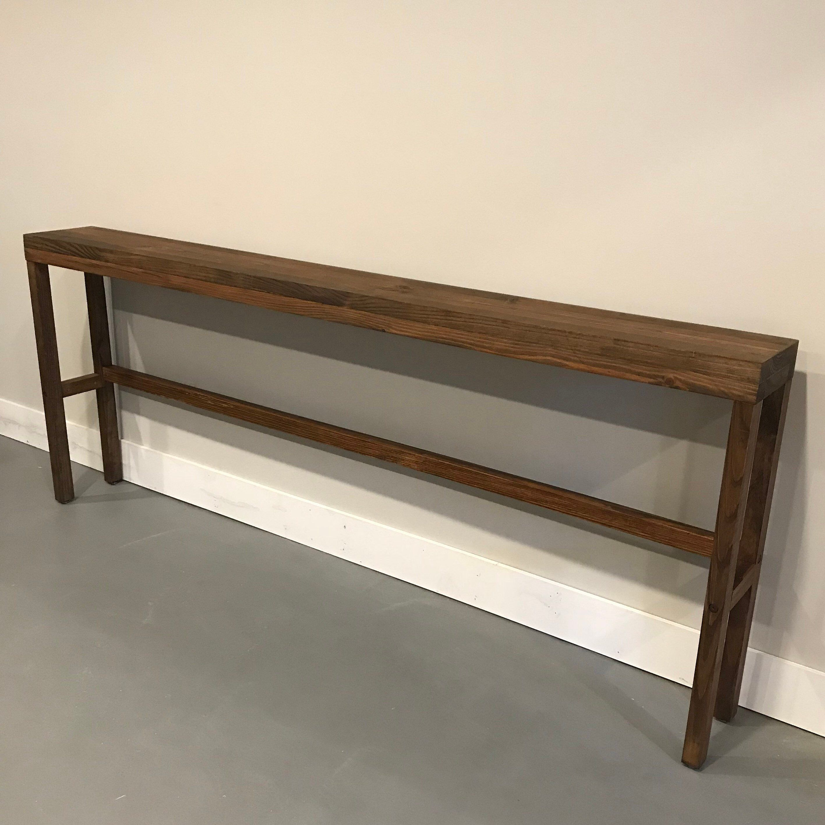 Long Console Table Narrow Console Table Skinny Console Table