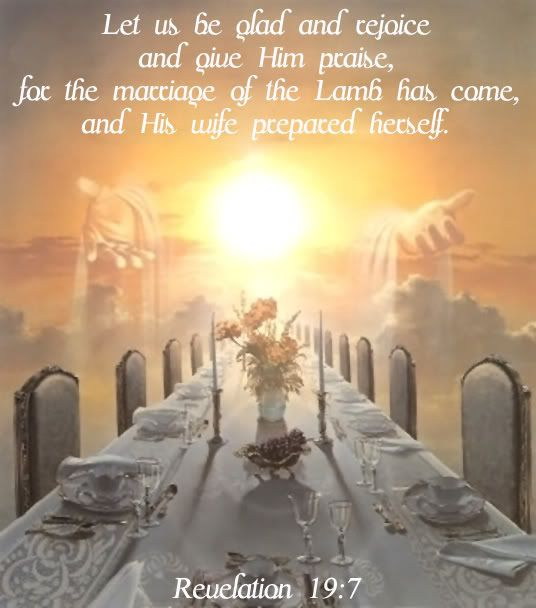 Image result for image of Revelation 19:7
