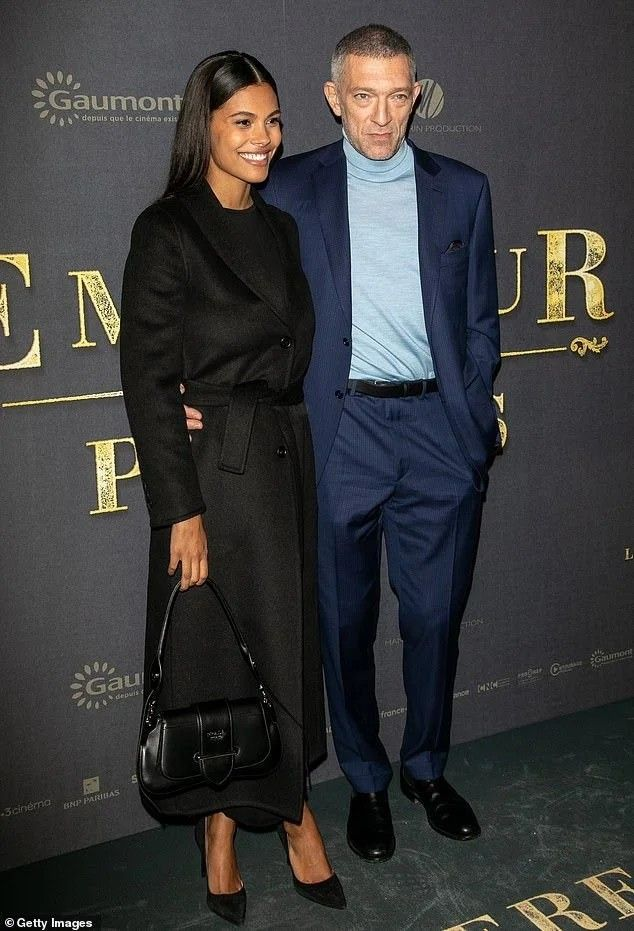 Vincent Cassel and wife Tina Kunakey | Tina kunakey