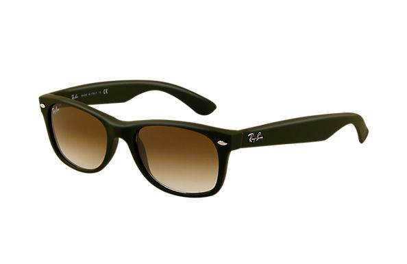 6e86e5dcdc Ray-Ban RB2132 812 51 55-18 New Wayfarer Matte Sunglasses