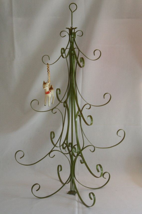 Vintage Metal Christmas Tree Table Top By CalmCoolCollectedVin