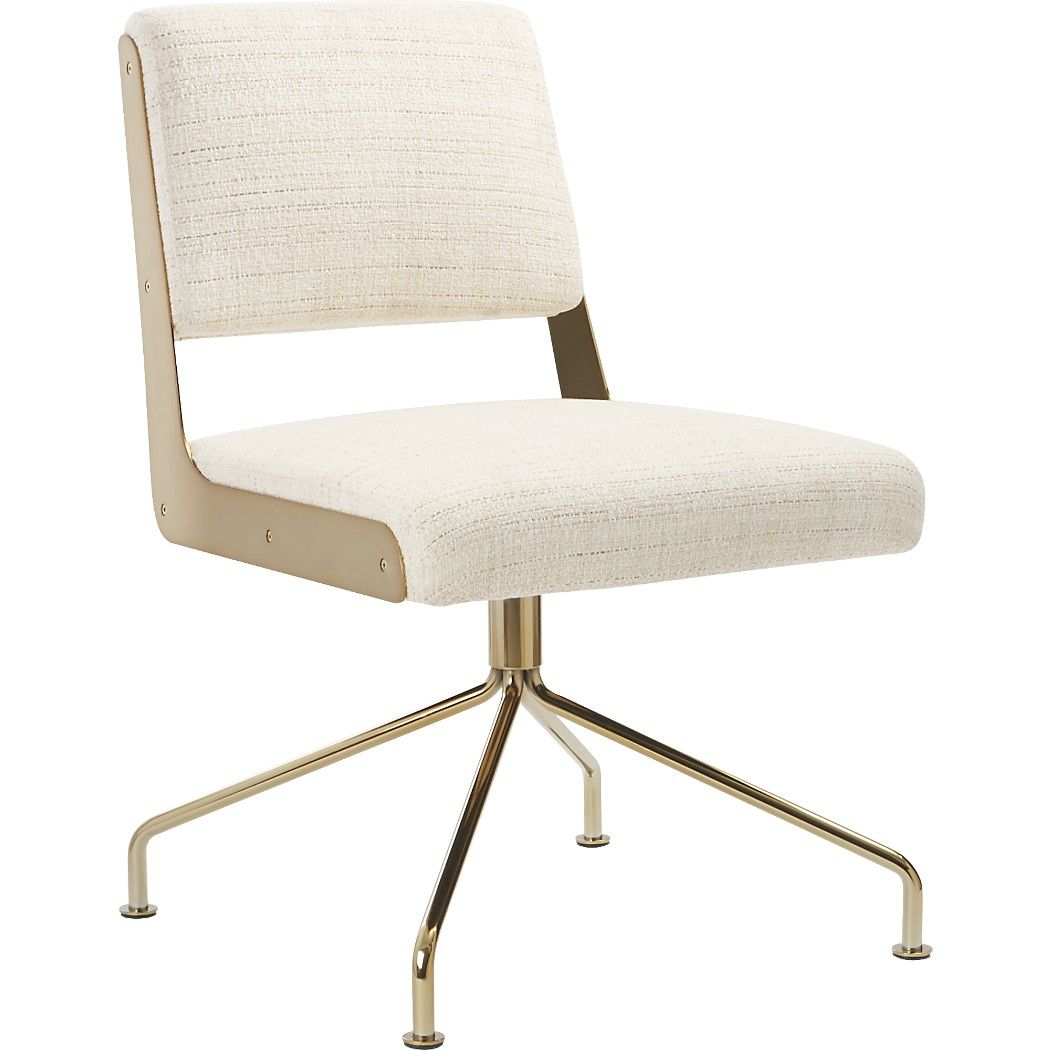 Rue Cambon Cream Office Chair Reviews With Images Chic