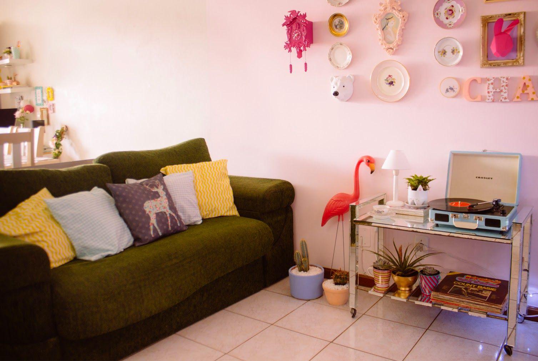 Decora O Com Pouco Dinheiro Minha Sala Antes E Depois Interiors -> Sala Pequena Apartamento