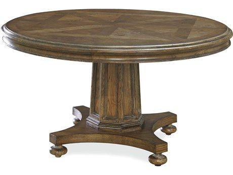 Universal Furniture New Bohemian 80u0027u0027 Round Bohemian Oak Dining Table