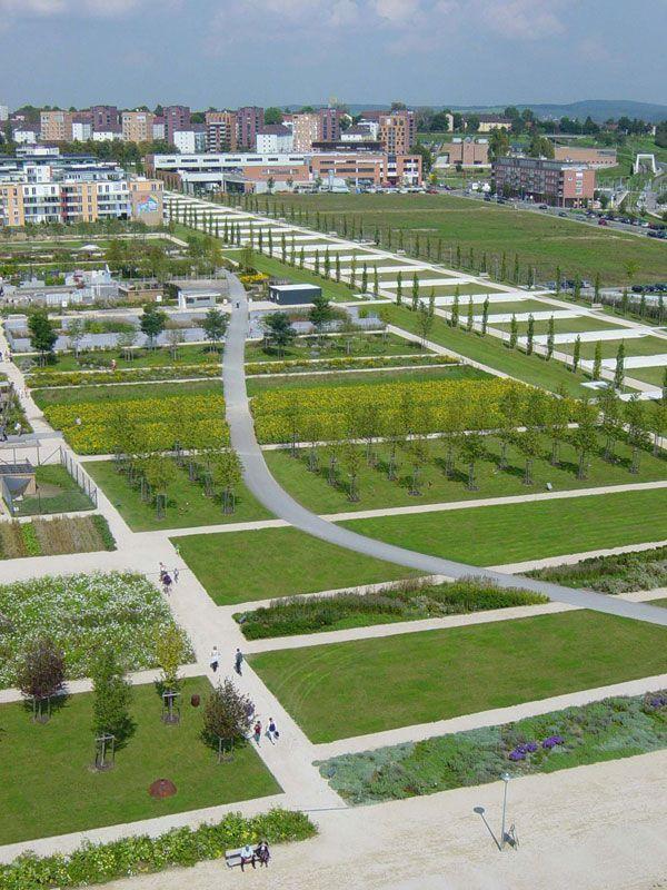 Scharnhauser Park Gets Multi Million Dollar Rainwater Management Commercial Landscaping Landscape Architect Contemporary Landscape