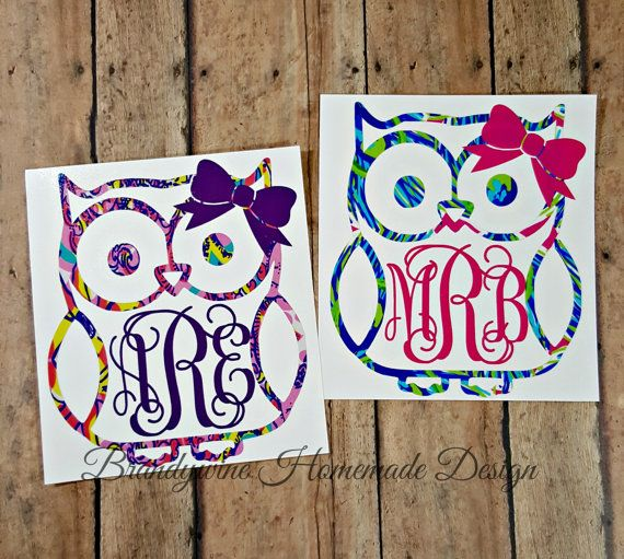 Owl Custom Vinyl Decals For Car Custom Vinyl Decals - Custom vinyl decals for cups