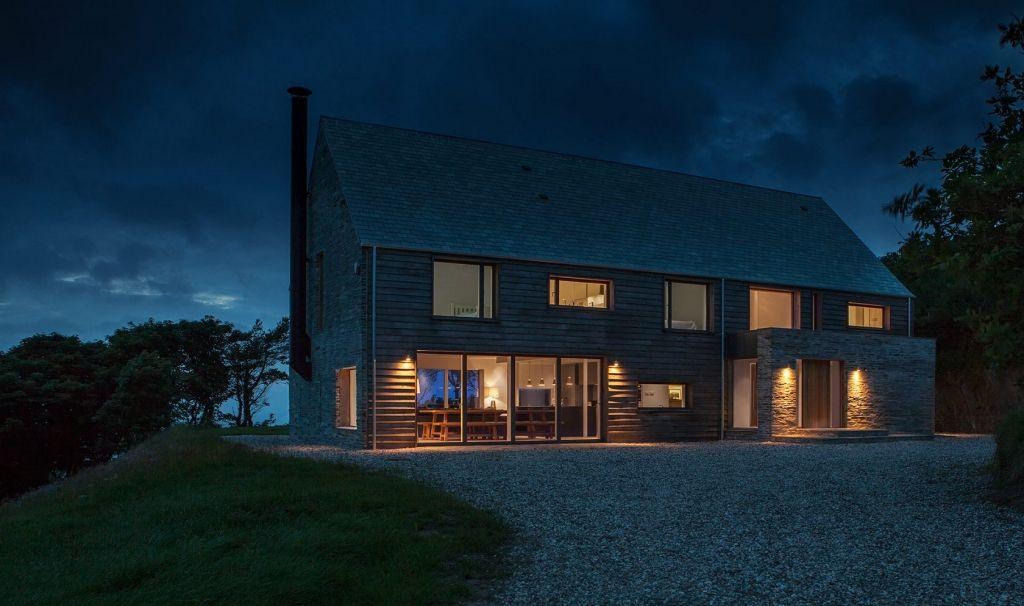 Ferienhaus in england moderne landhaus architektur for Modernes landhaus