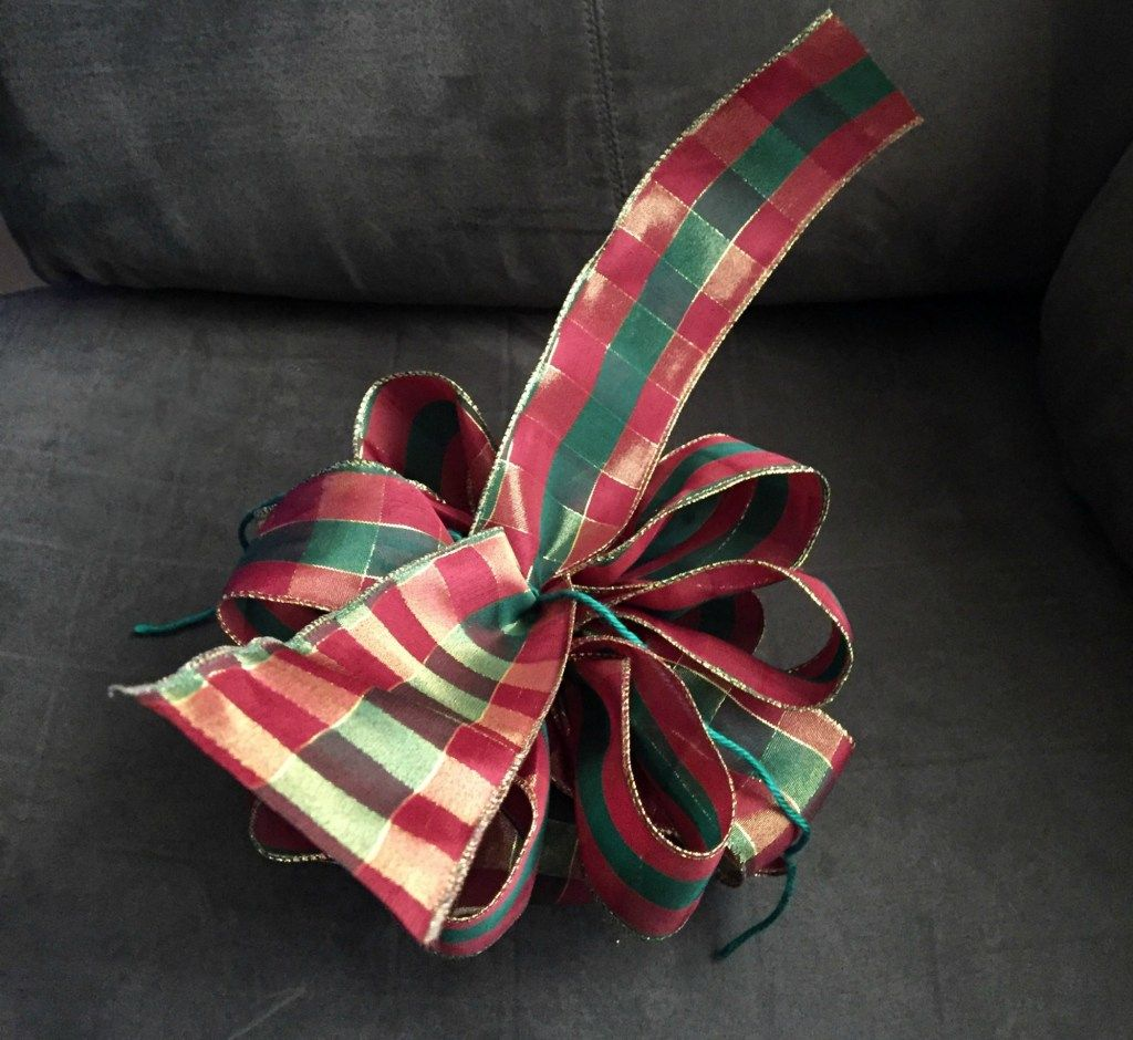 How to Make a Wire Ribbon Bow Ribbon bows, Wired ribbon