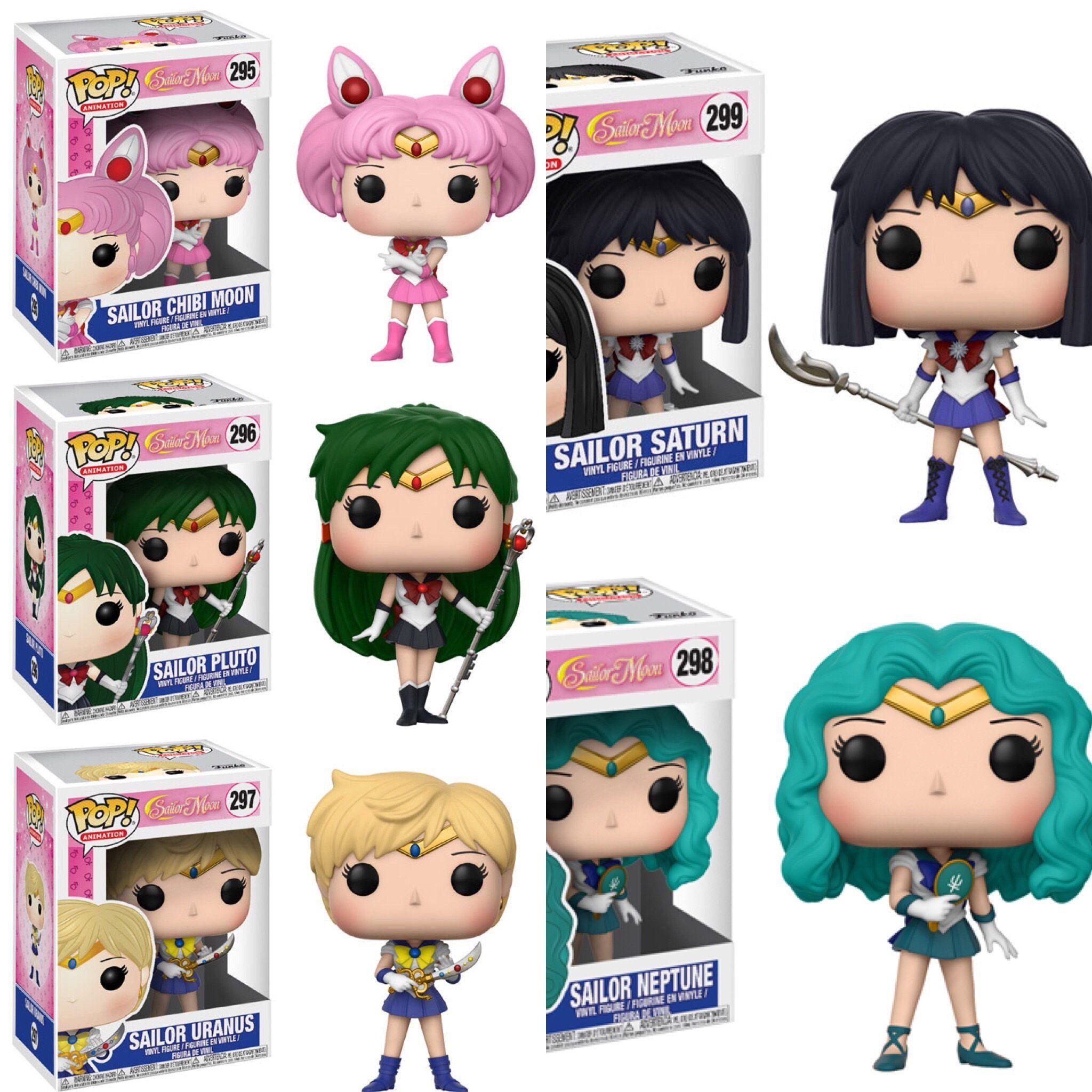d6fd277335d Funko Pop Animation Sailor Moon Wave 2 - Set of 5
