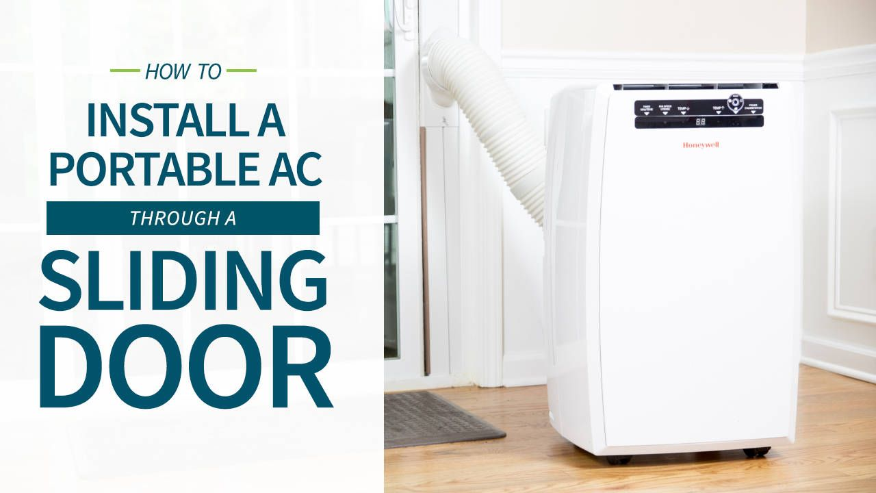 How to Vent a Portable Air Conditioner | Sliding glass ...