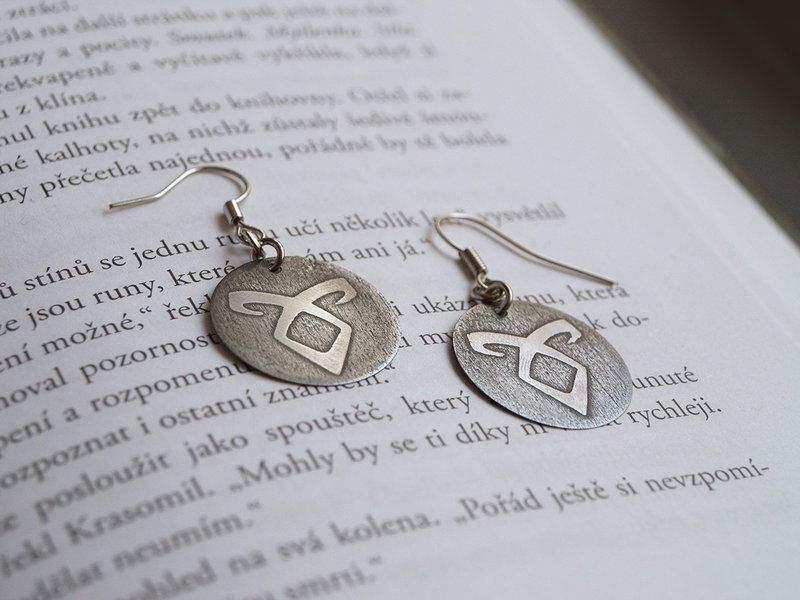 Angelic Power Rune earrings (Mortal Instruments)