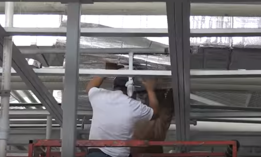 Wrapping Ducts With Infrastop Is Easy Even For A Small Crew And A Large Facility Check Out The Video On Our Bubble Foil Insulation Foil Insulation Duct Work