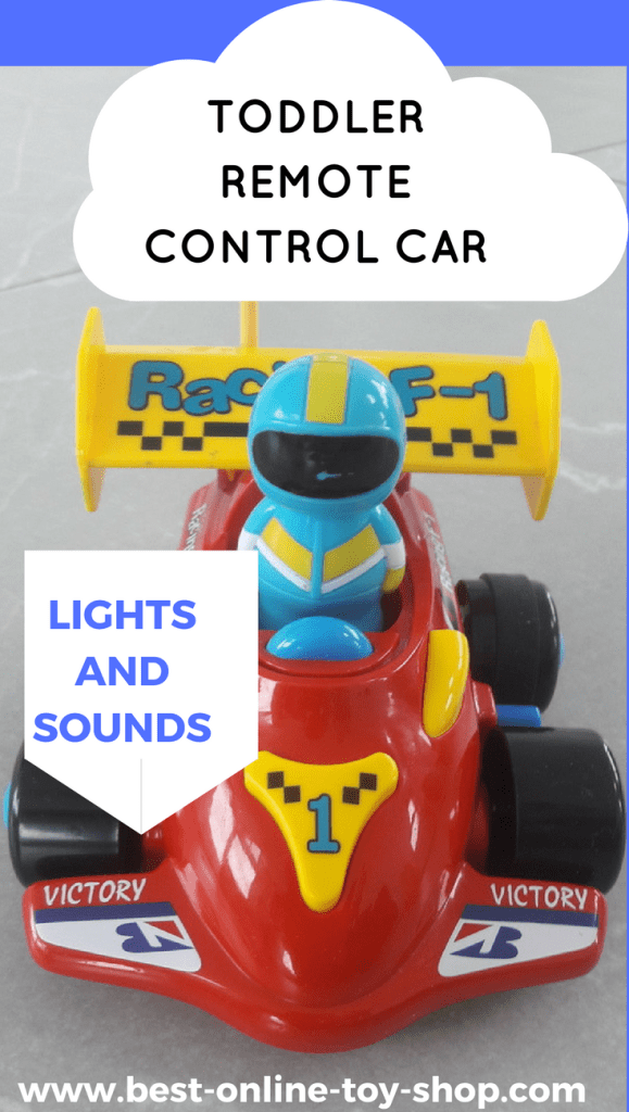 Remote Control Car For Toddler With Lights and Sounds ...