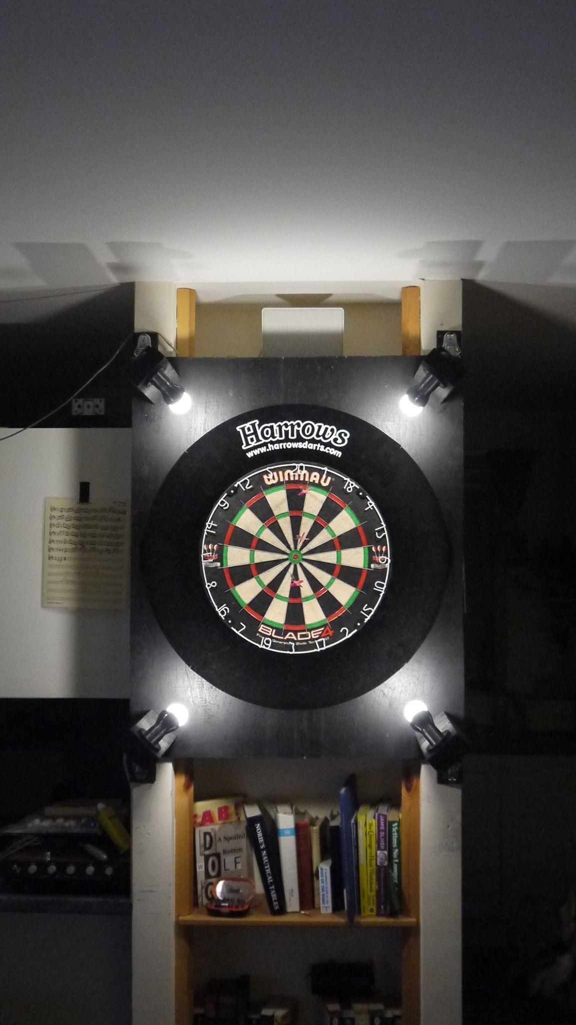 Let S Play Darts Dart Board Wall Game Room Bar Play Darts