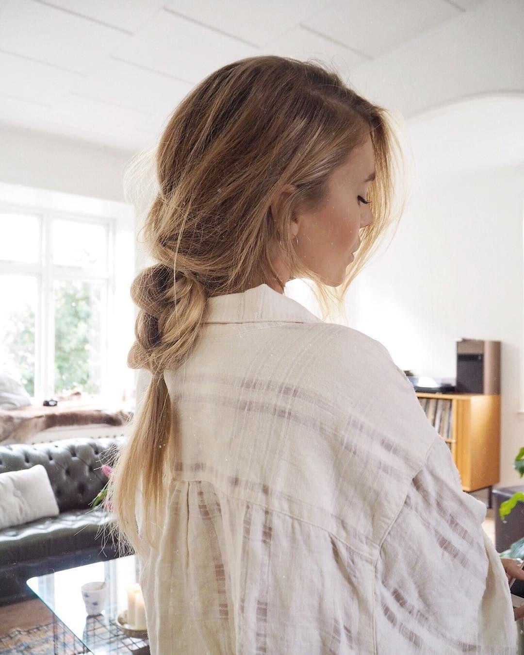 Katepearl ueuchairueuc pinterest messy braids hair style and