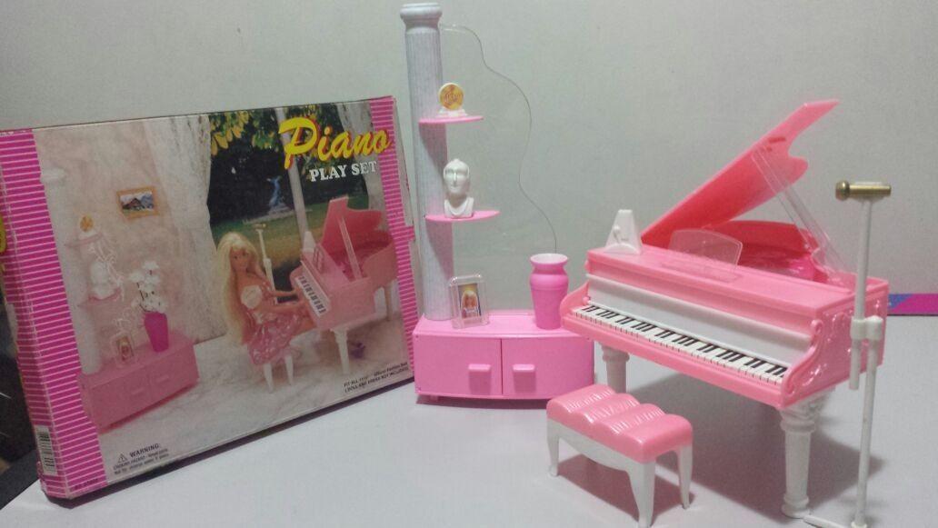 Sala De Piano Glória (barbie, Monster High, Princesas) - R$ 100,00 ...