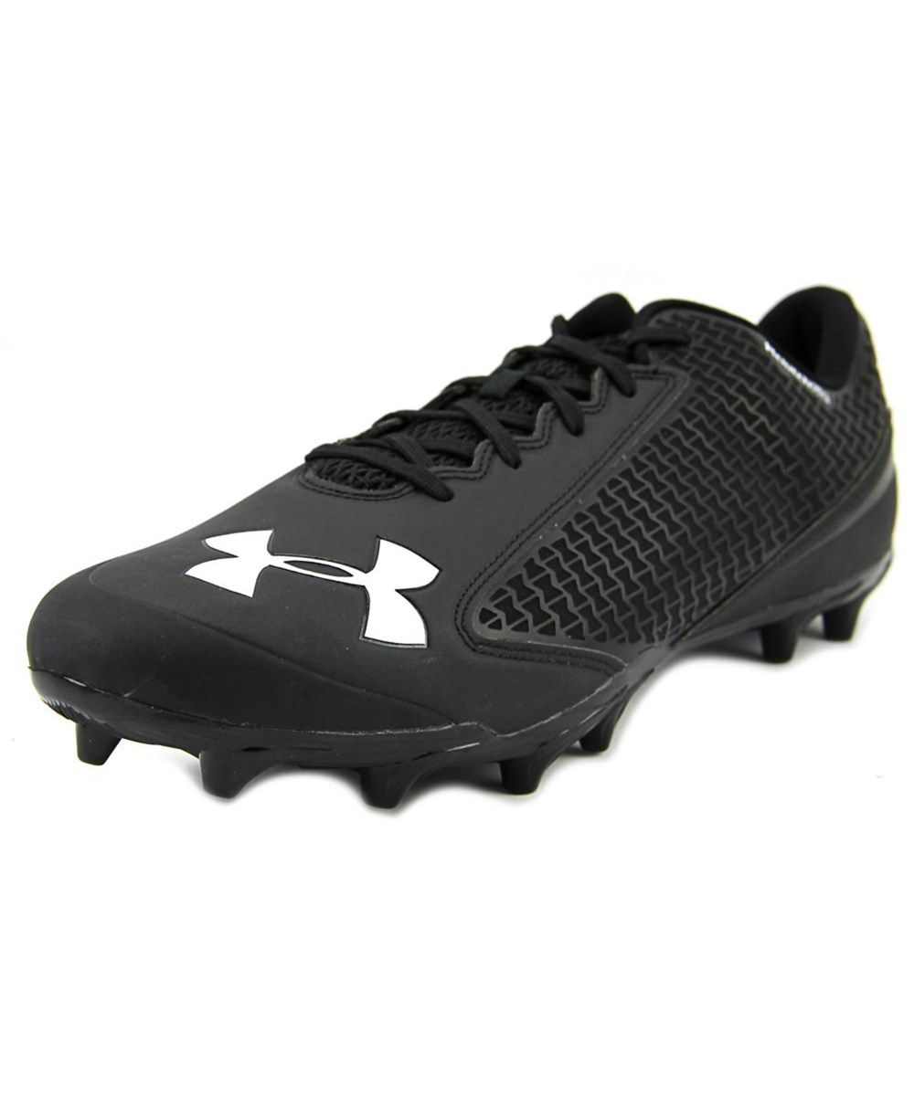 6afd66855 UNDER ARMOUR Under Armour Ua Team Nitro Low Mc Men Round Toe Synthetic Black  Cleats .  underarmour  shoes  sneakers