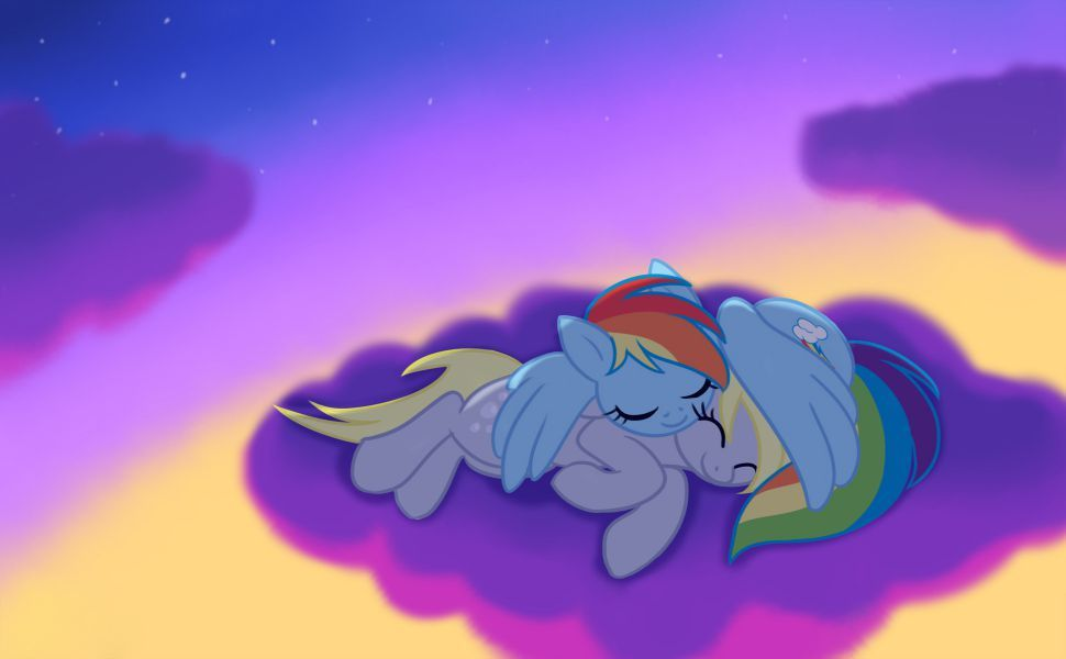 Rainbow Dash And Derpy Hooves HD Wallpaper My Little Pony Friendship Windows