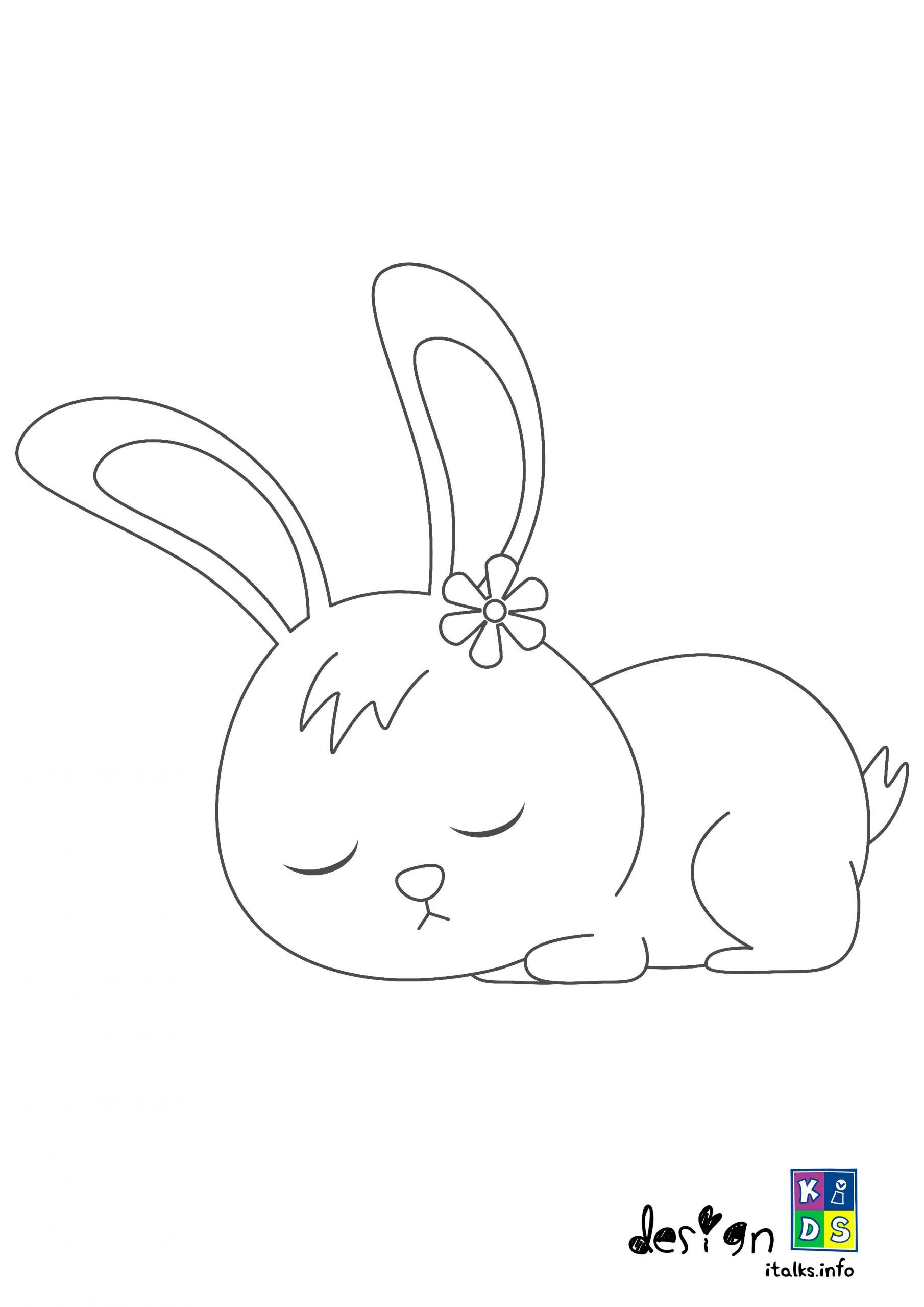 Pin By Robert On Art Bunny Coloring Pages Sleeping Bunny Free Coloring Pages
