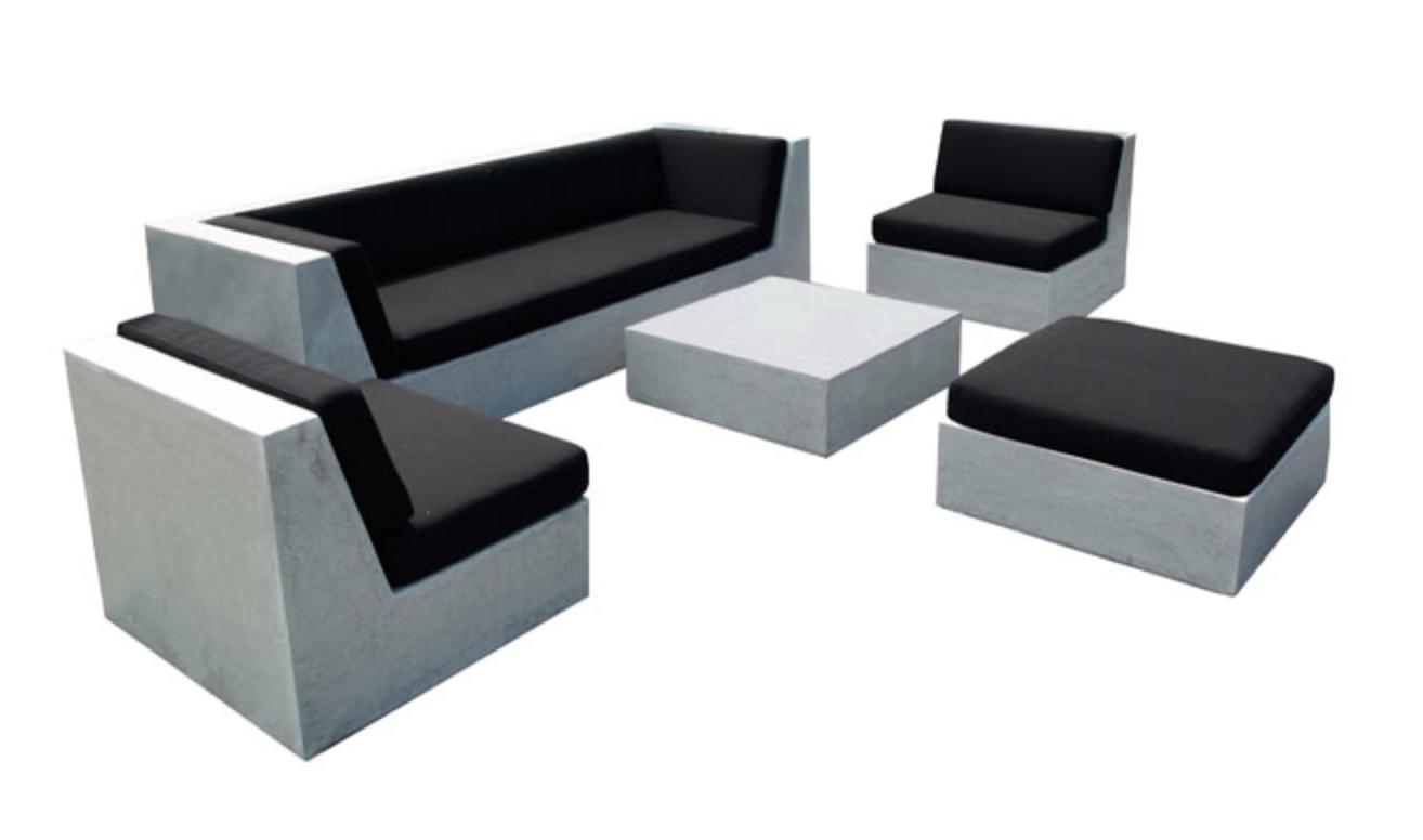 Loungeset weerbestendig betonlook concrete furniture concrete