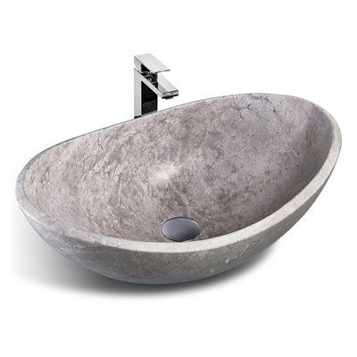 Unik Stone LMS-010 Classic Collection Stone Vessel Sink *Lowe\u0027s