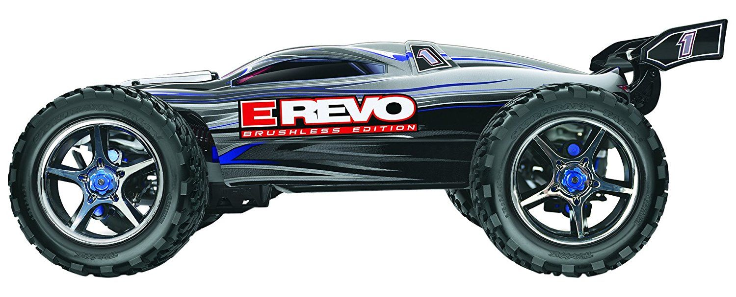 Traxxas 2.4GHz ERevo Brushless Variable Color 4WD Ready
