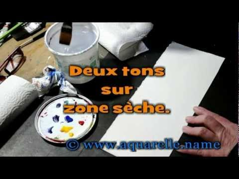 Youtube Pinceau Plat Aquarelle Pinceau