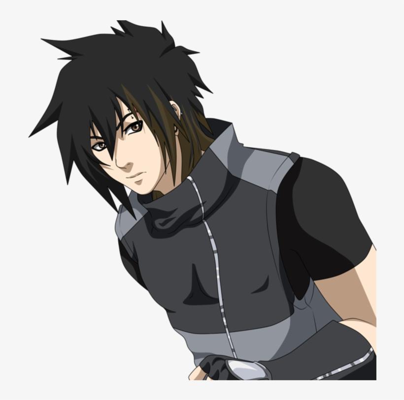 Kouwa Naruto Oc Black Hair Free Transparent Png Download Pngkey Naruto Oc Hair Png Free Hair
