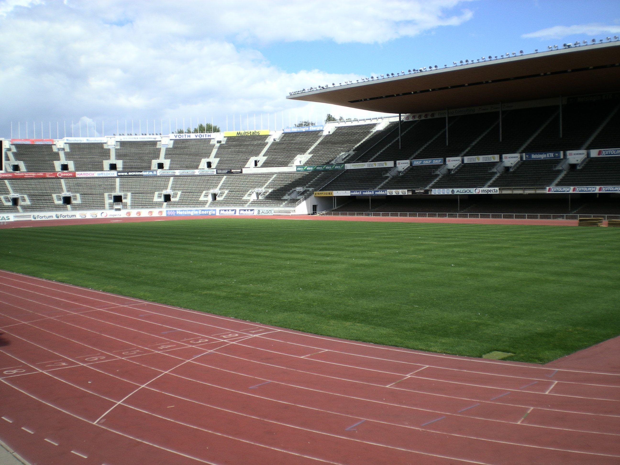 stadion w Helsinkach