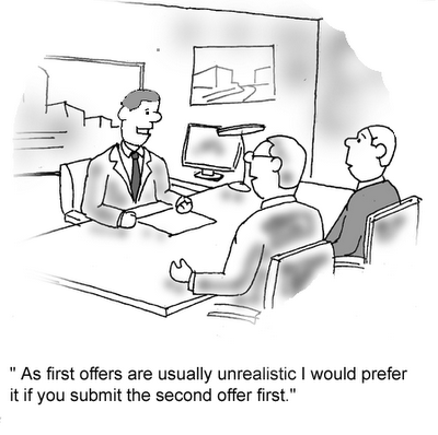 Real Estate Jokes: Give me your second offer :)