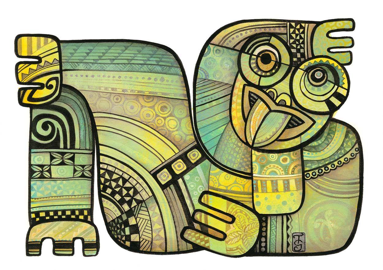 Laid Back by Tanya McCabe | Arty | Pinterest | Maori, Maori art and ...