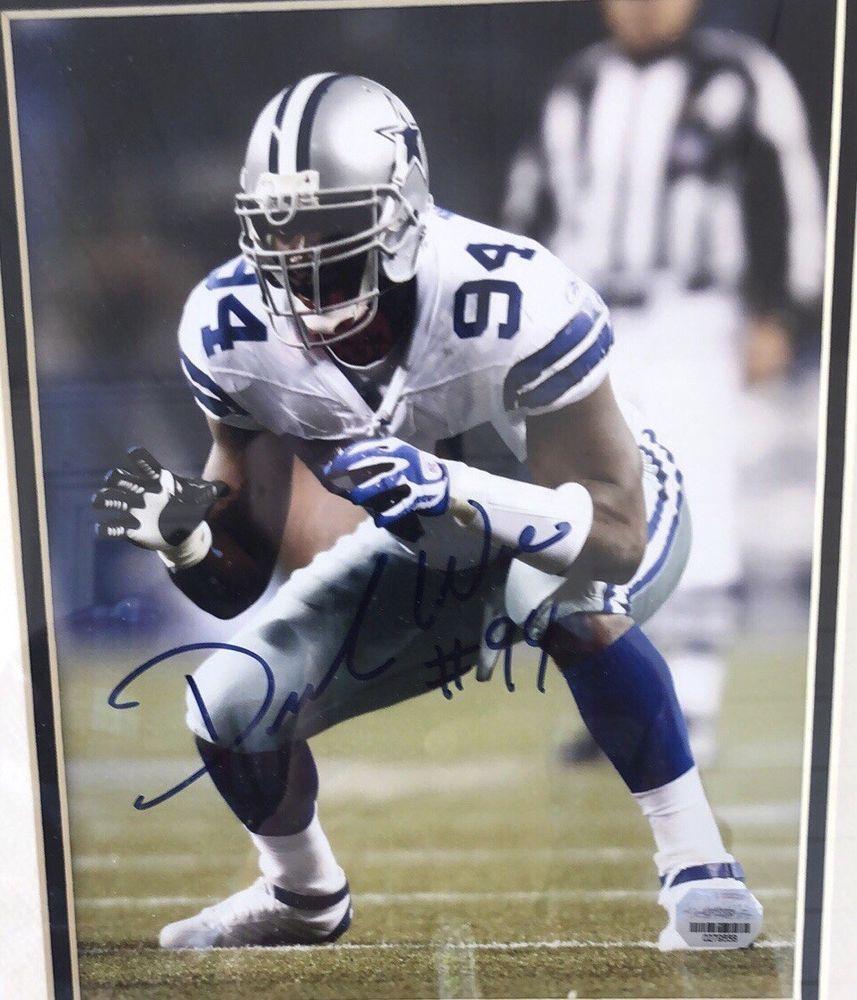 808981484 Demarcus Ware Autographed Photo And Dallas Cowboys Super Bowl Memorabilia!!