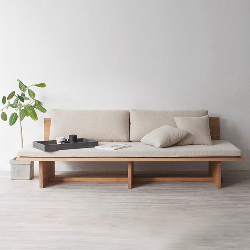 Hyung Suk Cho Bases Minimal Daybed On Traditional Korean Design And  Paintings