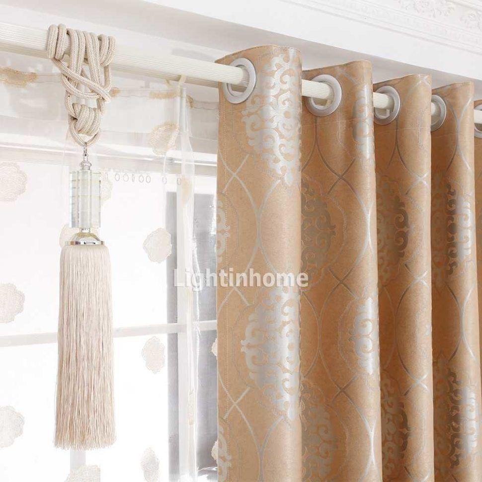 Small Daisy Flower Curtain Fabric Living Room Bedroom