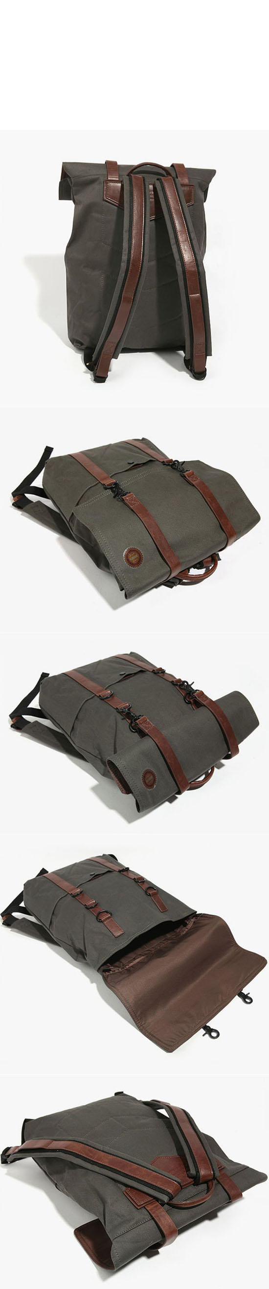 Water-proof Lining Military Canoe Pack-Bag 41