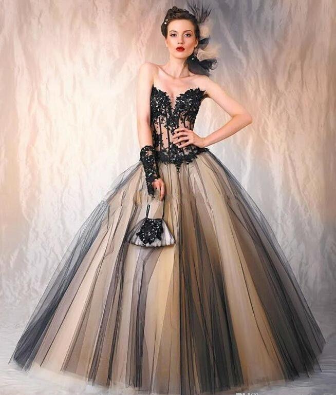 encontrar más vestidos de novia información acerca de gótico novia