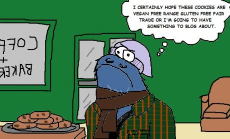 Hipster Cookie Monster