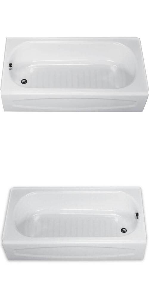 Bathtubs 42025: American Standard 5 White Salem Left Hand Drain ...