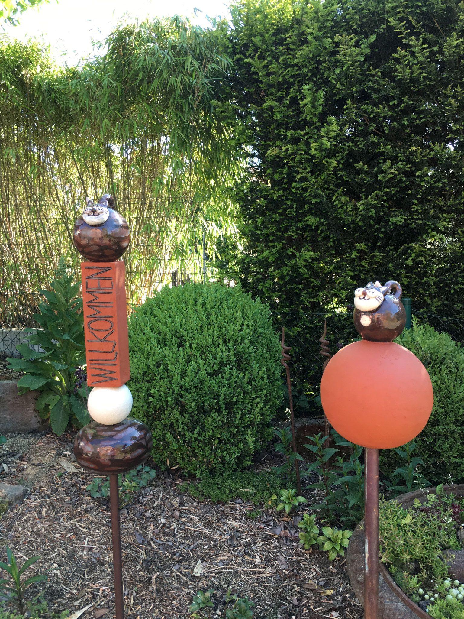 Gartenkeramik - Christian Schaffrath, Unikate aus Keramik