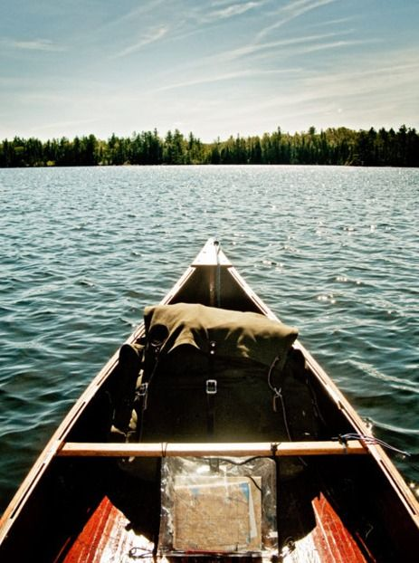 Canoe time. (pinned by redwoodclassics.net)